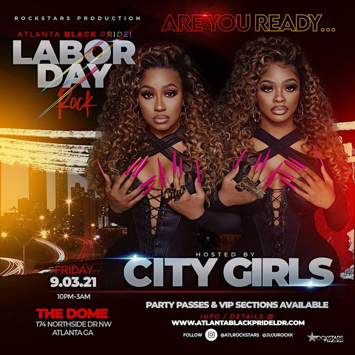 City Girls, Santana and Ashanti in Atlanta image