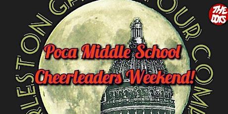 Poca Middle School Cheerleaders Weekend Ghost Walk tickets