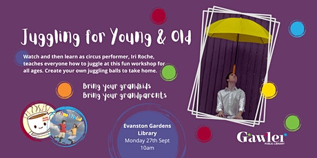 Juggling for Young  & Old tickets