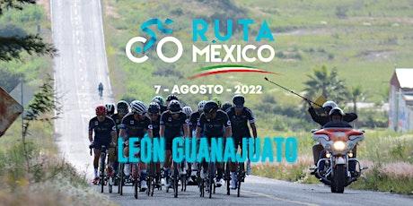 Ruta México 2022 boletos