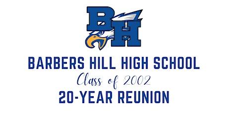 Class of 2002 - 20 Year High School Reunion tickets