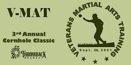 Veterans Martial Arts Training 3rd Annual Cornhole Fundraiser 2021 tickets