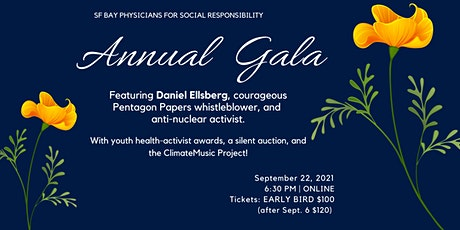 SF Bay Physicians for Social Responsibility ANNUAL GALA tickets