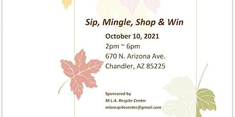 Sip ,Shop ,Mingle & Win...Fall Fundraiser tickets