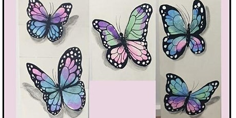 School Holiday Butterfly Craft Activity 4-7 year olds tickets