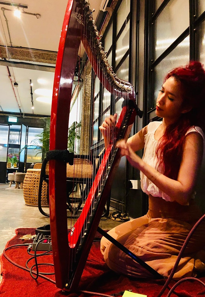 Strings & Stretch: Yoga to Live Harp Music image