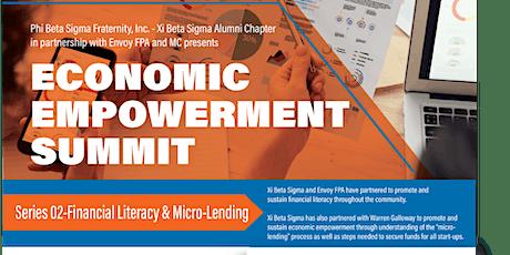 Economic Empowerment Summit - Series 2 - Financial Literacy & Micro Lending tickets