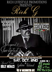 Rich G Live In Yakima, WA tickets
