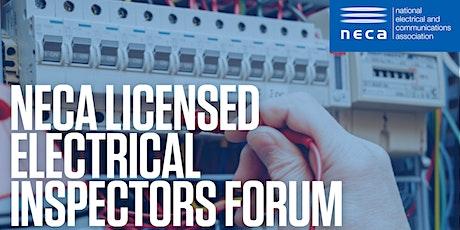 NECA Licensed Electrical Inspectors Forum tickets