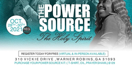 THE POWER SOURCE - THE HOLY SPIRIT tickets