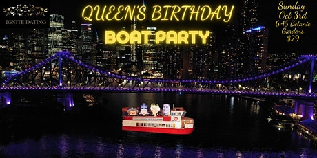 Queen's Birthday Boat Party tickets