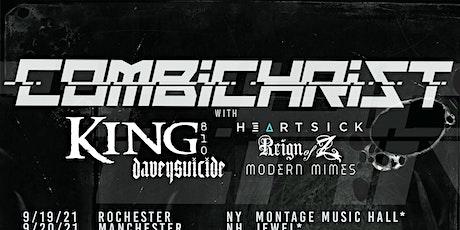 Combichrist, Davey Suicide, Heartsick, Modern Mimes  - $20 tickets