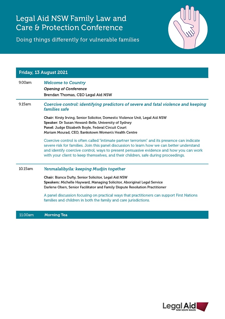 Family Law and Care & Protection Conference image