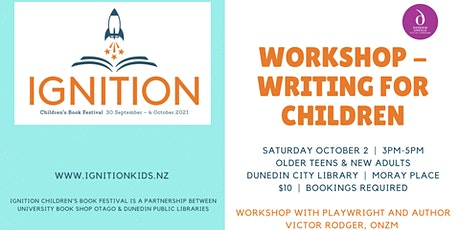 Writing Workshop - Writing for Children with Victor Rodger tickets