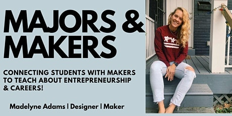 MAJORS & MAKERS | Good Letters Design tickets