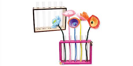 Art Flower Holder - Craft Session tickets