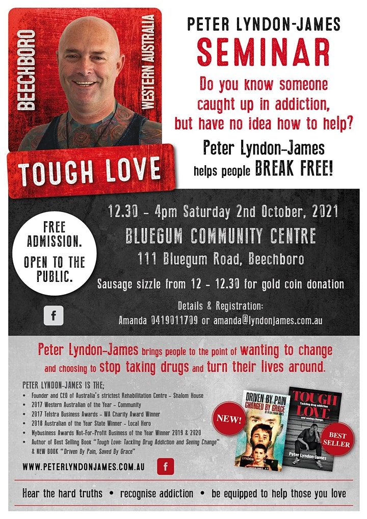 Tough Love Seminar Beechboro image