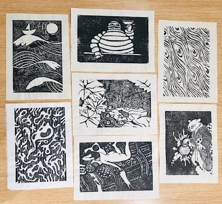 Japanese Woodblock Printing with Hiroko Imada image