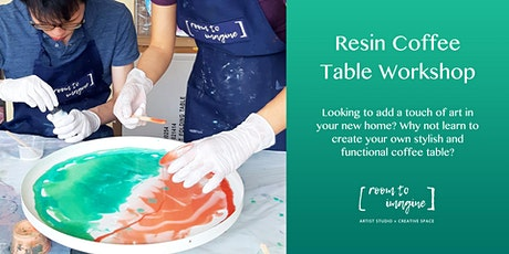 Resin Coffee Table Workshop tickets