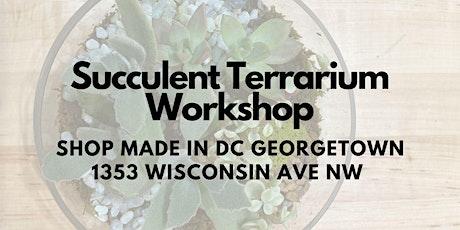 Terrarium Building with Indigro Plant Design tickets