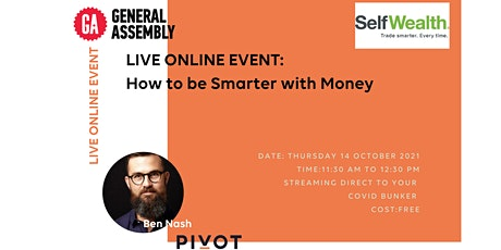 How to be Smarter with Money tickets