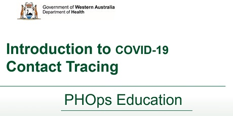 SWITCH - Introduction to COVID-19 Contact Tracing tickets
