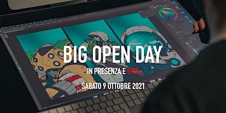 Big Open Day Ottobre 2021 biglietti