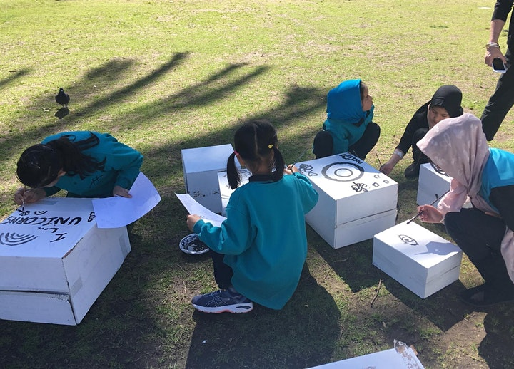 Kids Sculpture workshop with Arlon Hall image