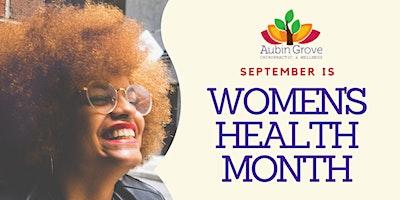 Women's Health Month – Workshop 3
