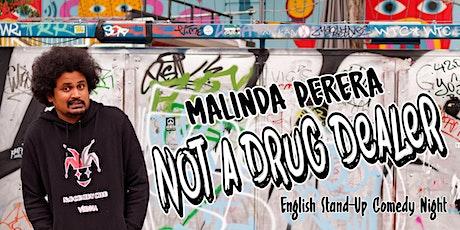 Malinda Perera (SL) - English Stand-Up Comedy Night (Vienna) Tickets