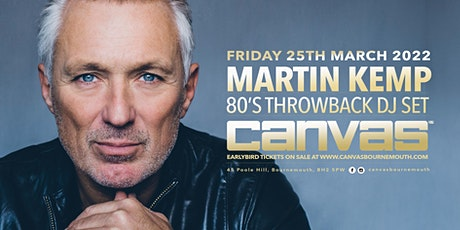 Martin Kemps 80's Party tickets