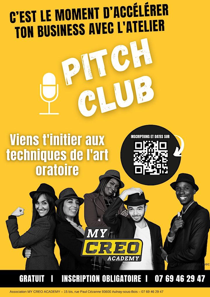 Image pour Atelier Pitch Club