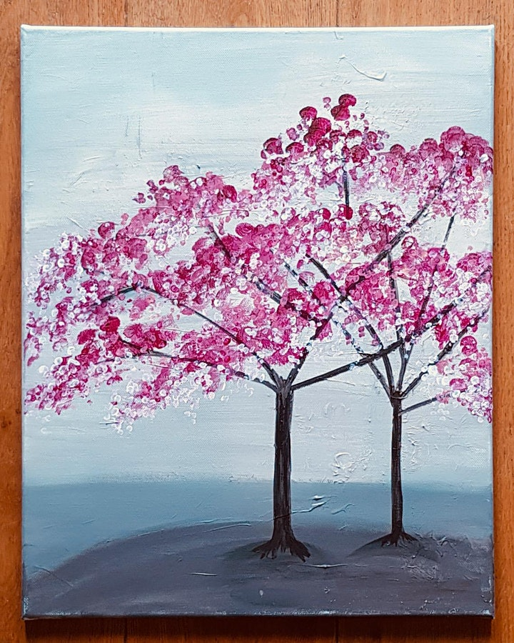 Cherries in Blossom - Open Workshop image
