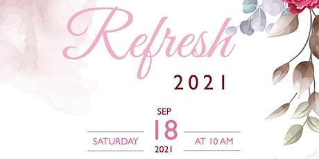 Refresh 2021 tickets