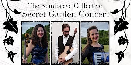 The Semibreve Collective Secret Garden Concert at The Peace Garden tickets