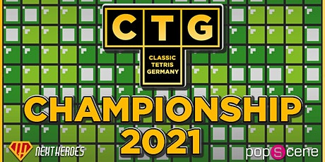 Classic Tetris Germany Championship 2021 billets