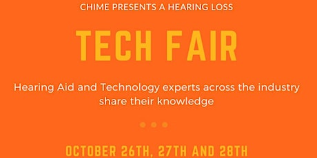 Chime Hearing Technology fair. The latest hearing technology for everyone tickets