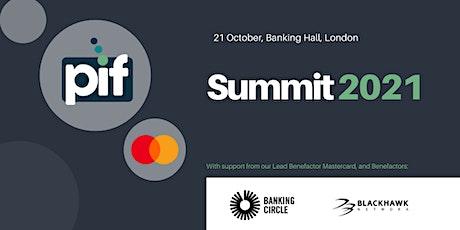 PIF Summit 2021 tickets