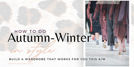 Autumn-Winter Style  - Sorted tickets