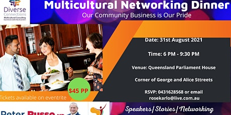 Copy of Multicultural Business  Dinner tickets