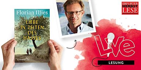 LESUNG: Florian Illies Tickets
