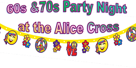 60s and 70s Party night tickets