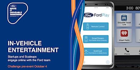 Ford Virtual European Road Trip: In-Vehicle Entertainment tickets