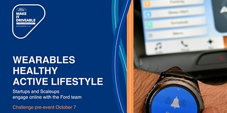 Ford Virtual European Road Trip: Wearables/Healthy/Active Lifestyle tickets