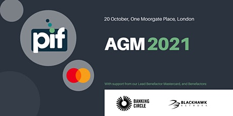 PIF AGM 2021 tickets