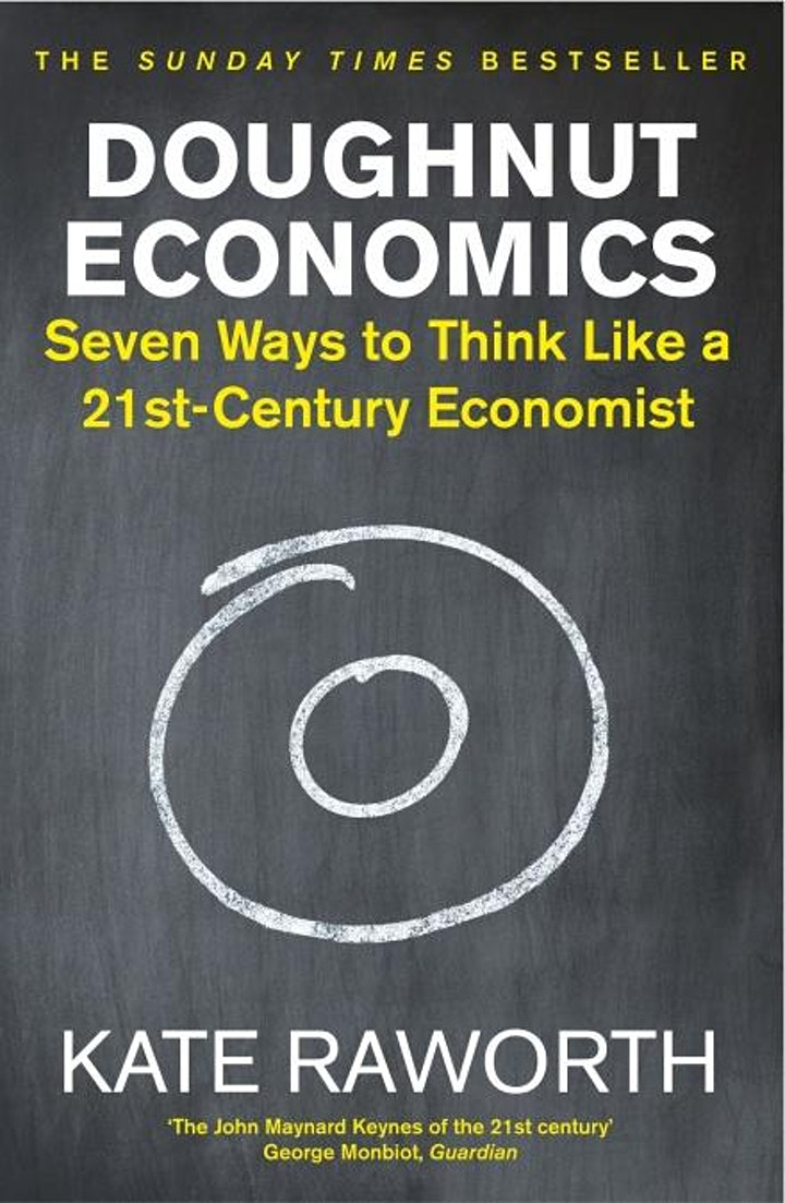 Sustainable Book Group (launch meeting,  discussing Doughnut Economics) image