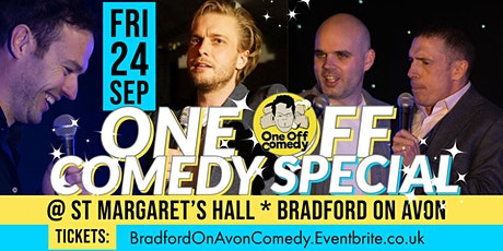 One Off Comedy Special @ St Margaret's Hall - Bradford on Avon! tickets