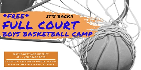 2021 Full Court Youth Basketball Camp tickets