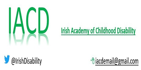 Irish Academy of Childhood Disability- Virtual Launch Event tickets