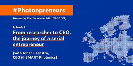 #Photonpreneurs - From researcher to CEO (with SMART Photonics) Tickets